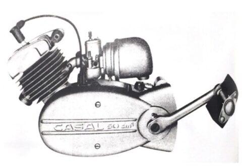 motor de duas velocidades M148 Casal versao com pedais